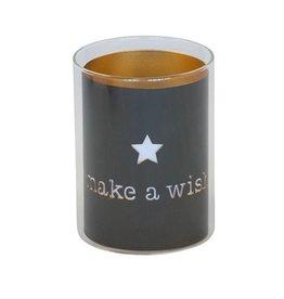 """Kerzenhalter """"make a wish"""""""