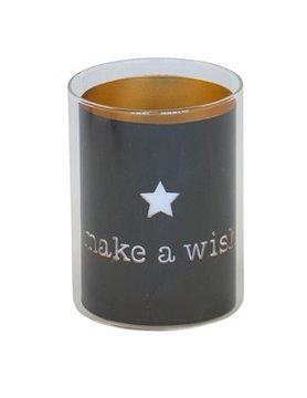 Candle holder make a wish