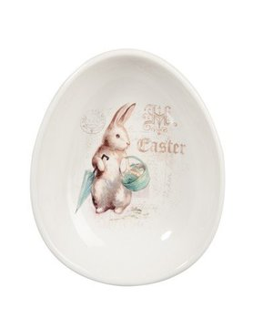 J-Line Ceramic bowl rabbit