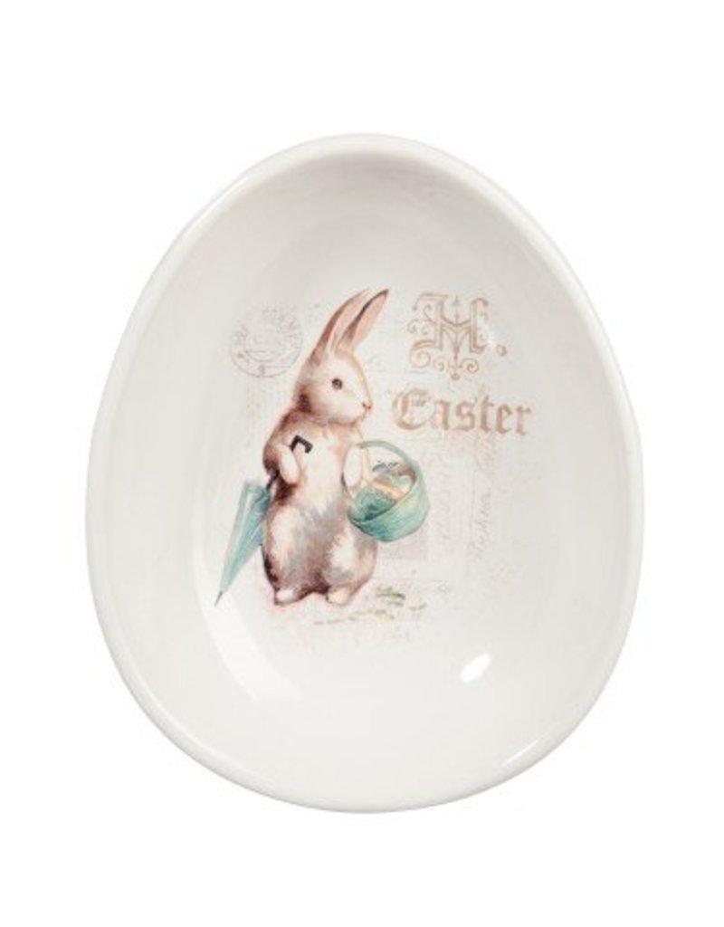 J-Line Ceramic bowl rabbit