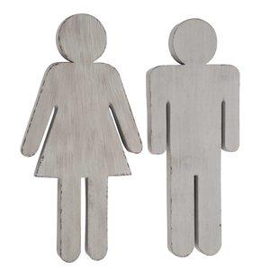 J-Line WC Frau /Mann