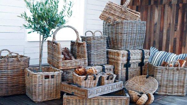 Artwood Rectangular baskets L or M