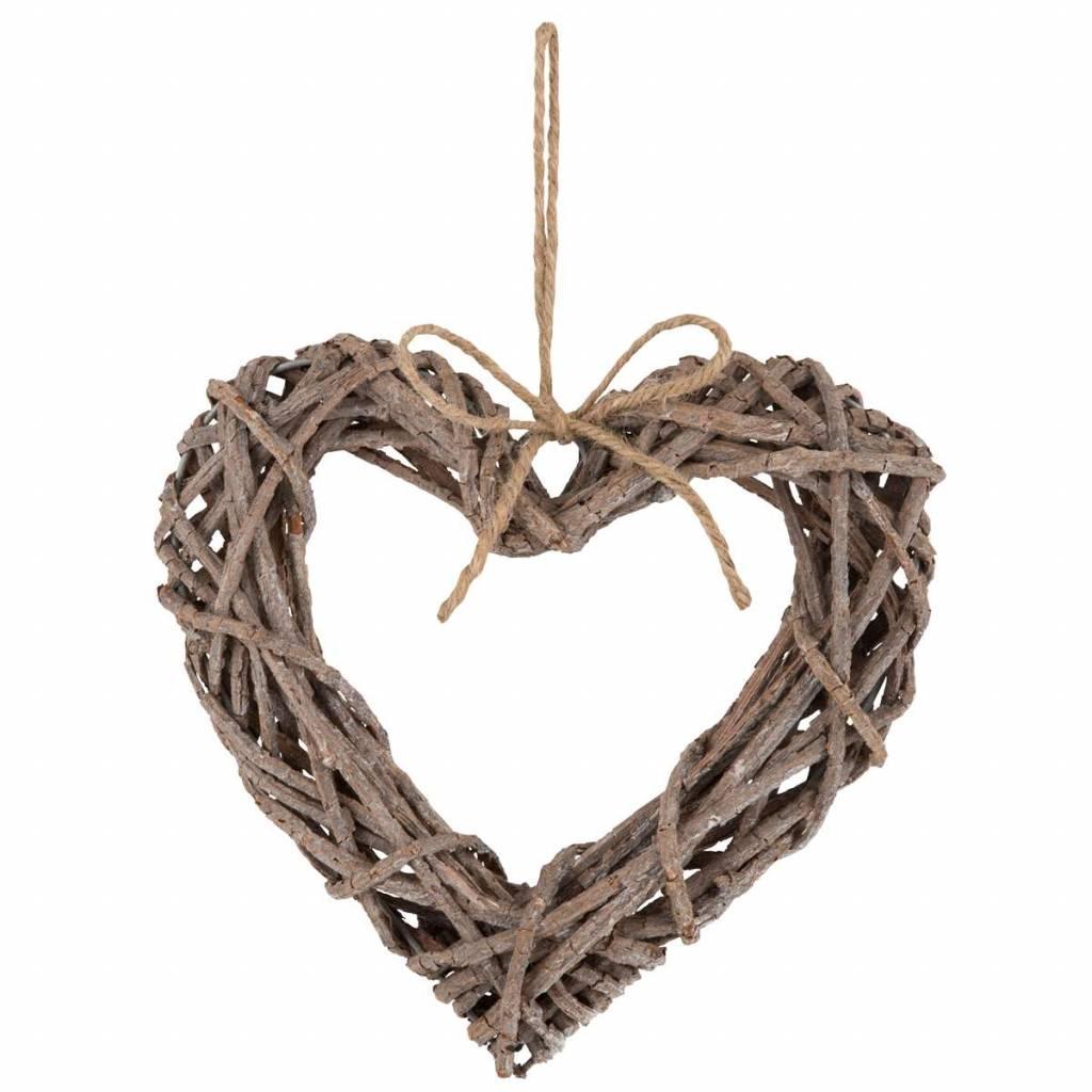 IB Laursen Herz aus Zweigen