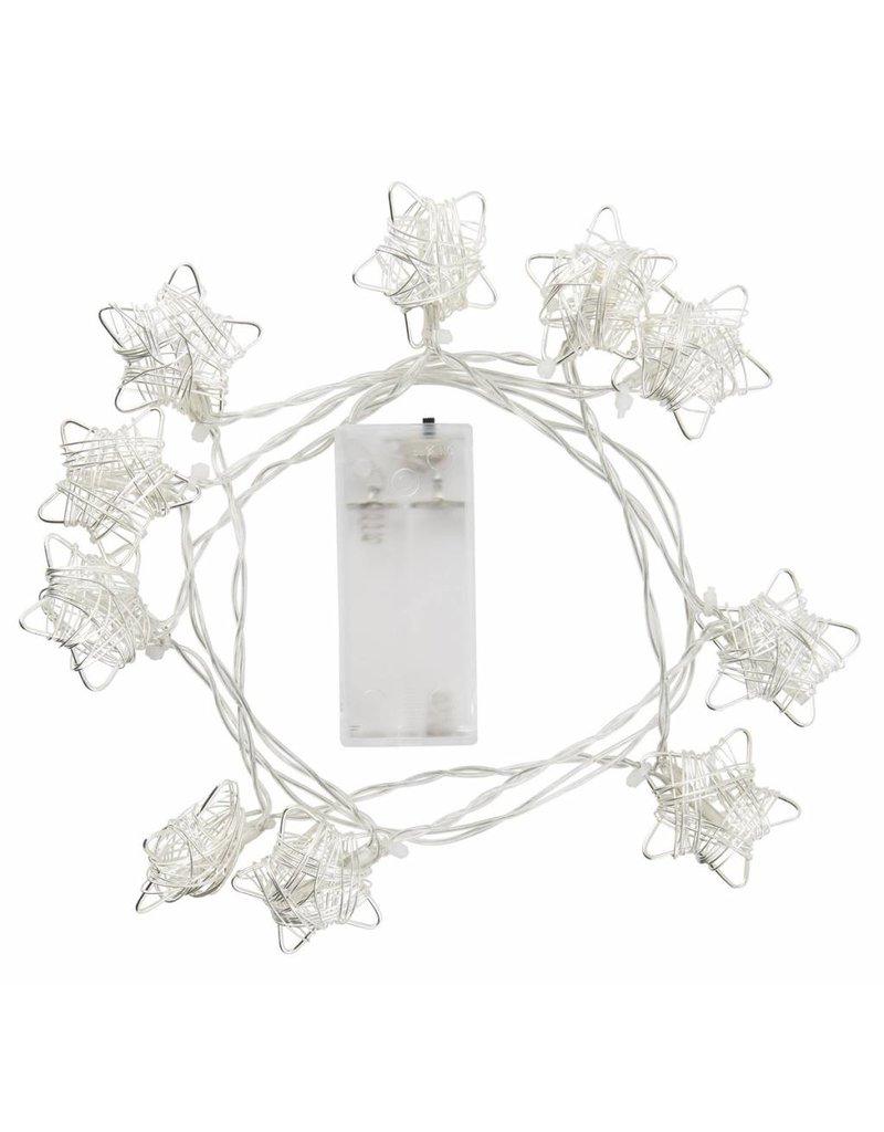 IB Laursen Lichterkette Stern 10 LED