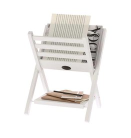 Riverdale Magazine Holder white
