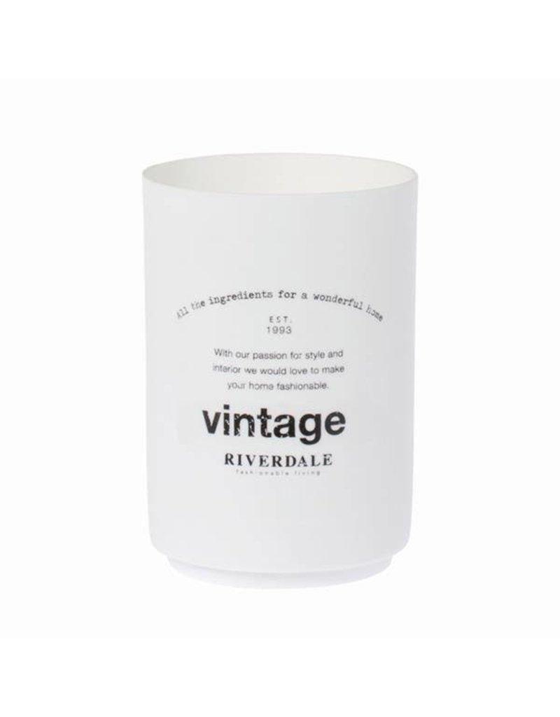 Riverdale Teelichthalter Vintage