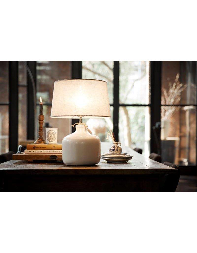Riverdale Large ceramic lamp