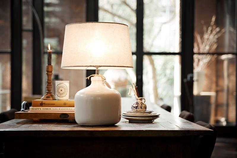 Riverdale Lampenfuß Keramik L