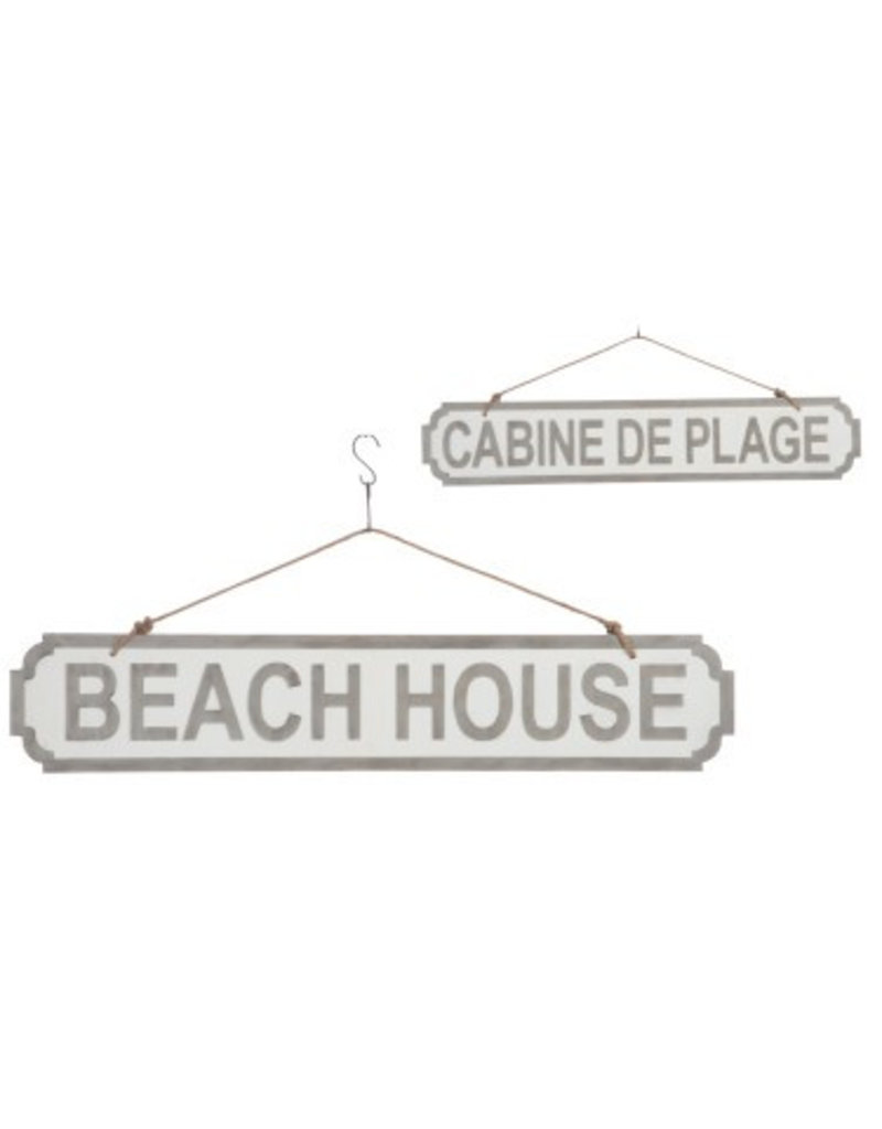 J-Line Holzschild Beach
