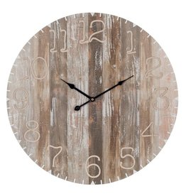 J-Line Clock natural
