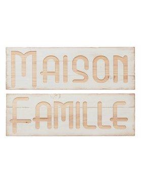 J-Line Schild Famille / Maison