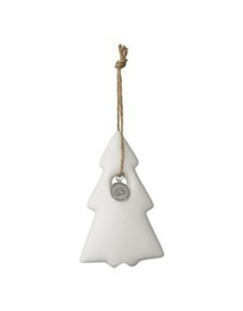 Lene Bjerre Porzellan Weihnachtsbaum weiß
