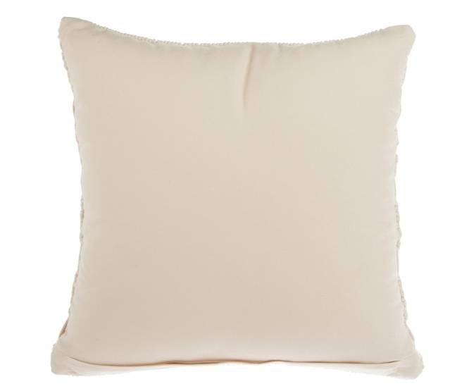 J-Line Macrame Cushion