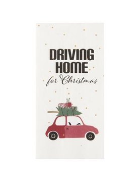 IB Laursen Serviette Driving home for Christmas