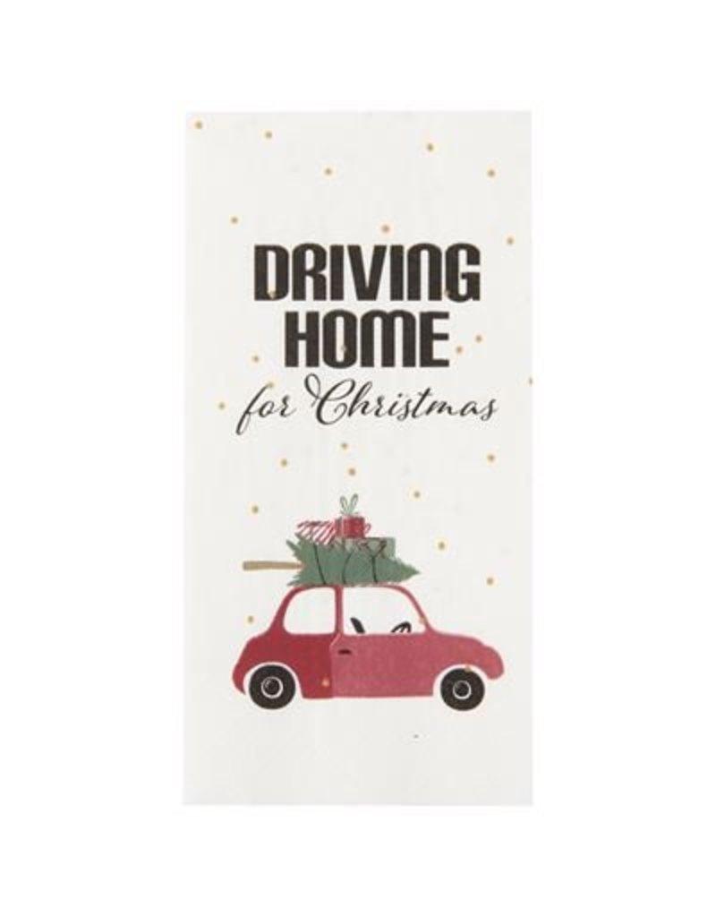 IB Laursen Napkin Driving home for Christmas