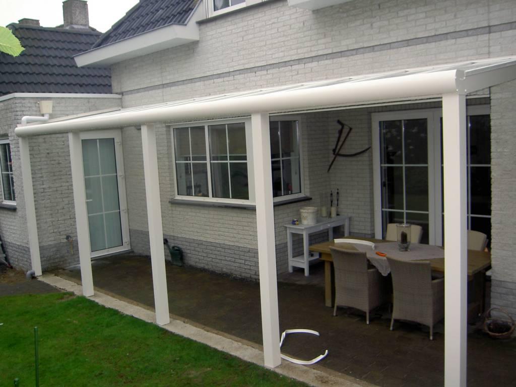 Someren terrasoverkapping veranda gemonteerd door A.G.A.Terras