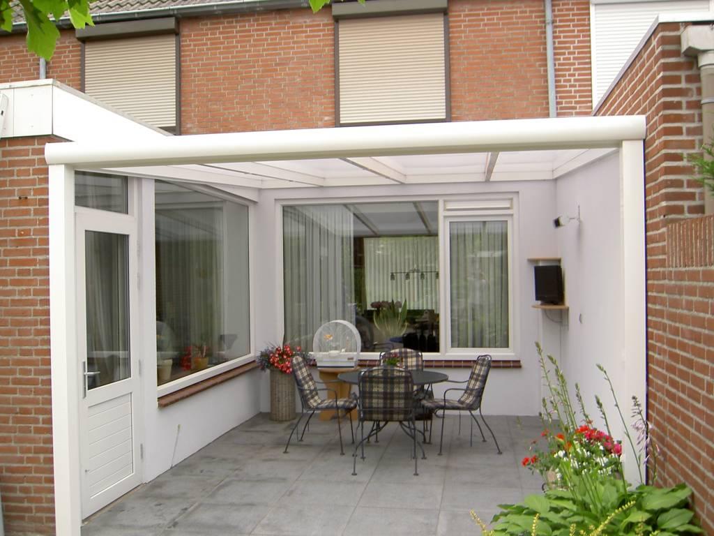 Mierlo Brabant terrasoverkapping veranda gemonteerd door A.G.A.Terras