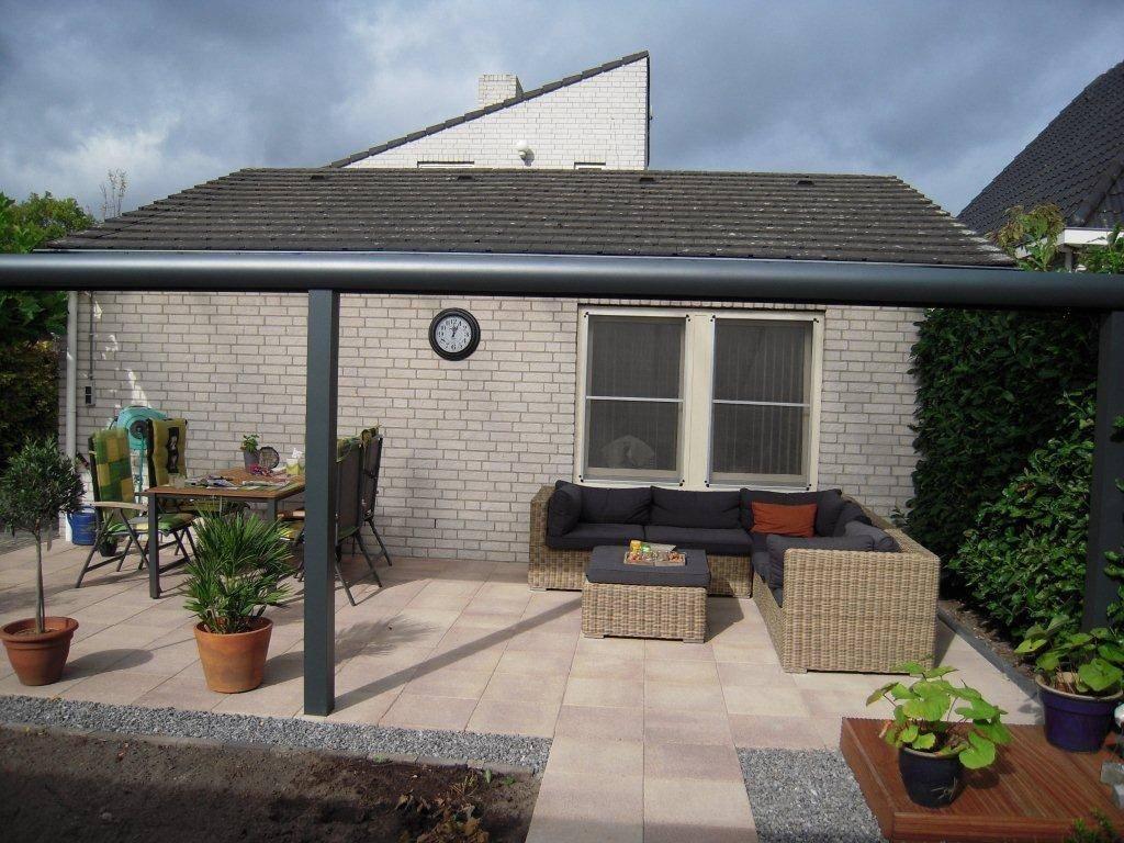 Budel Brabant Terrasoverkapping veranda gemonteerd door A.G.A.Terras