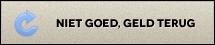 Niet goed, geld terug