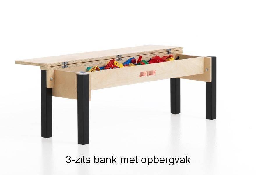 Opbergbank kinderen mooie houten klepbank voor ieder kind - Bank kind zits ...