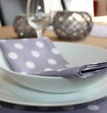 Set van 4 servetten - Lavendel