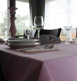 Tafellaken van biokatoen - Effen roze