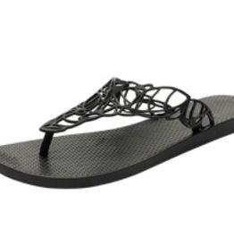 Slippers - Acacia - Zwart - X-Large-Laatste stuk!