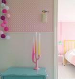 Cotton Ball Lights - Pink