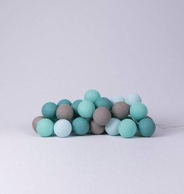 Cotton Ball Lights 35 - Mint