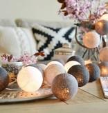 Cotton Ball Lights 35 - Taupe