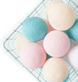 Cotton Ball Lights 35 - Pastel
