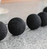 Cotton Ball Lights - Black