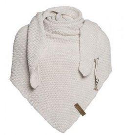 Coco omslagdoek - beige - Knit Factory
