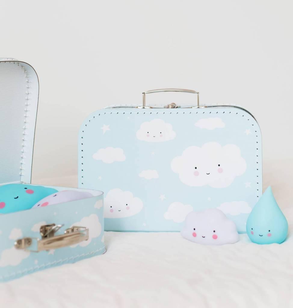 Koffertje Wolk Blauw