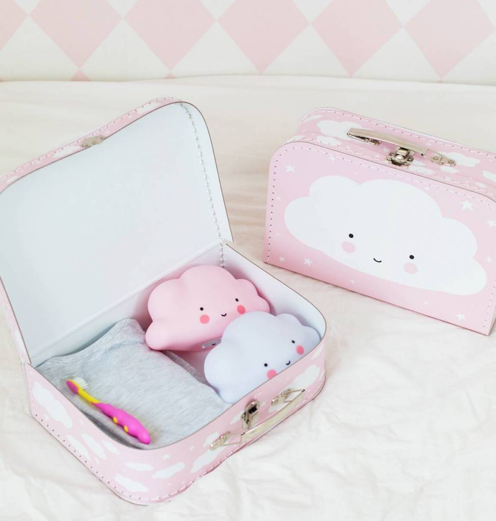 Koffertje Wolk Roze