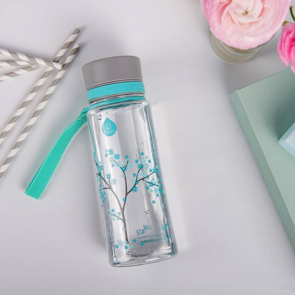 Myequa tritan waterfles BPA vrij Mint Blossom