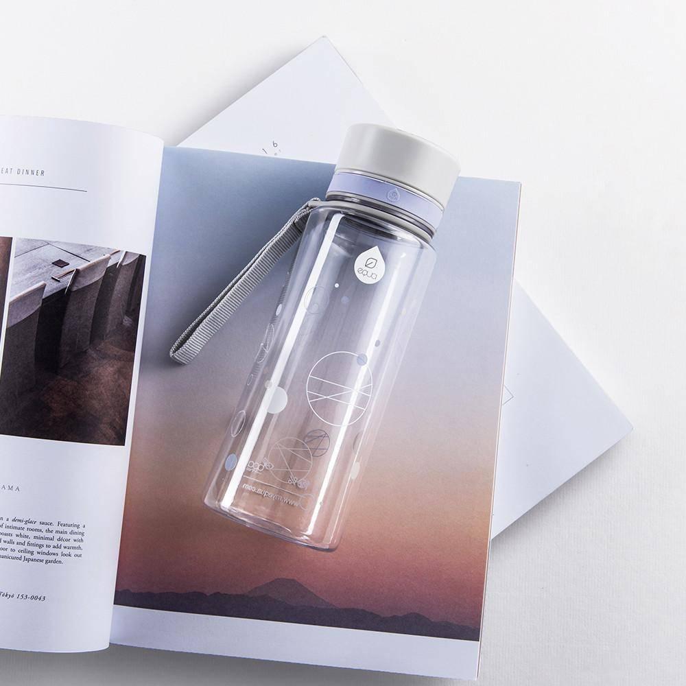 Myequa tritan waterfles BPA vrij Lavender Moon