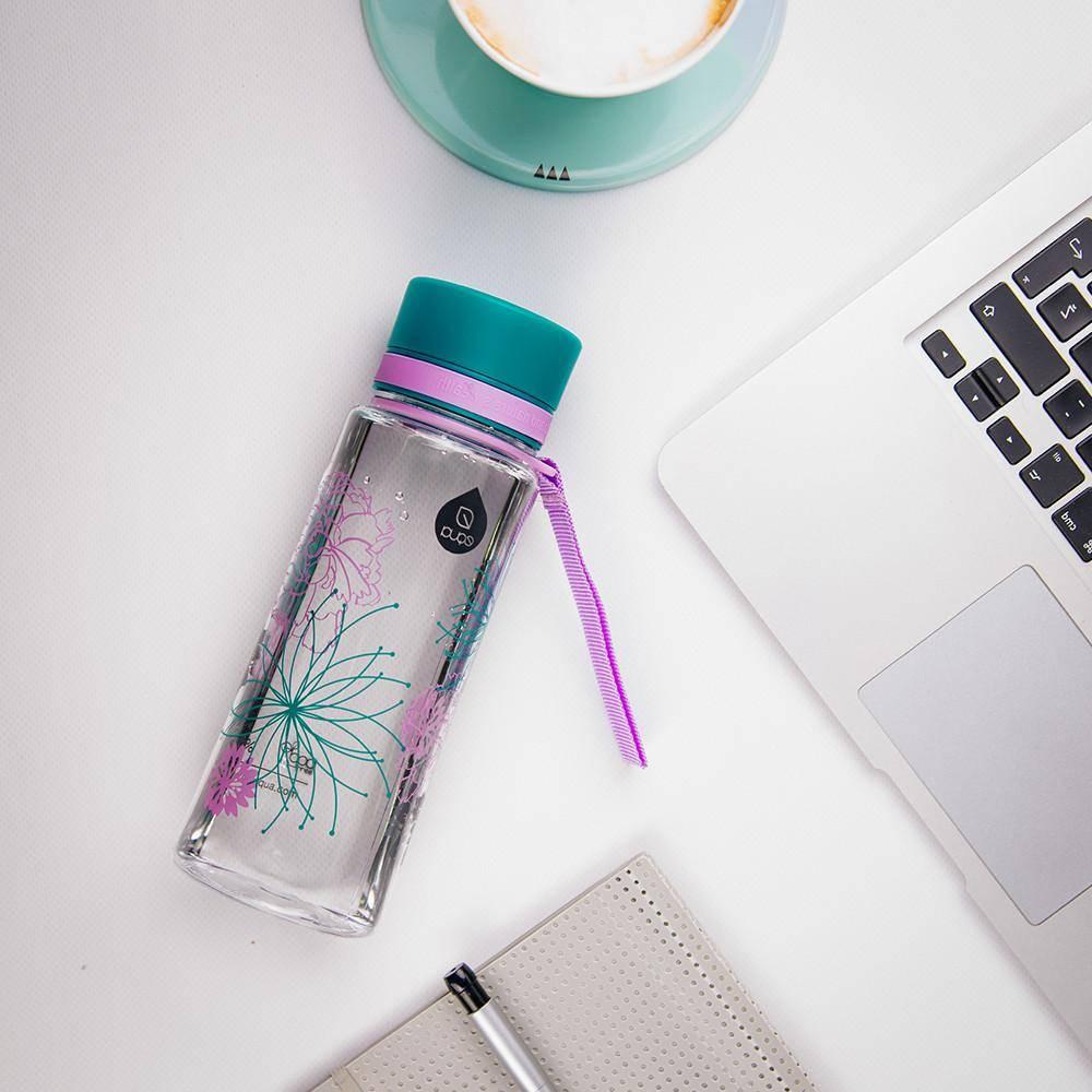 Myequa tritan waterfles BPA vrij Flower