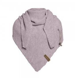 Coco omslagdoek - mauve - Knit Factory