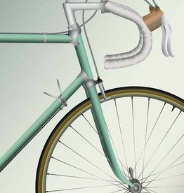Poster Racing Bicycle - 30x40 - Vissevasse