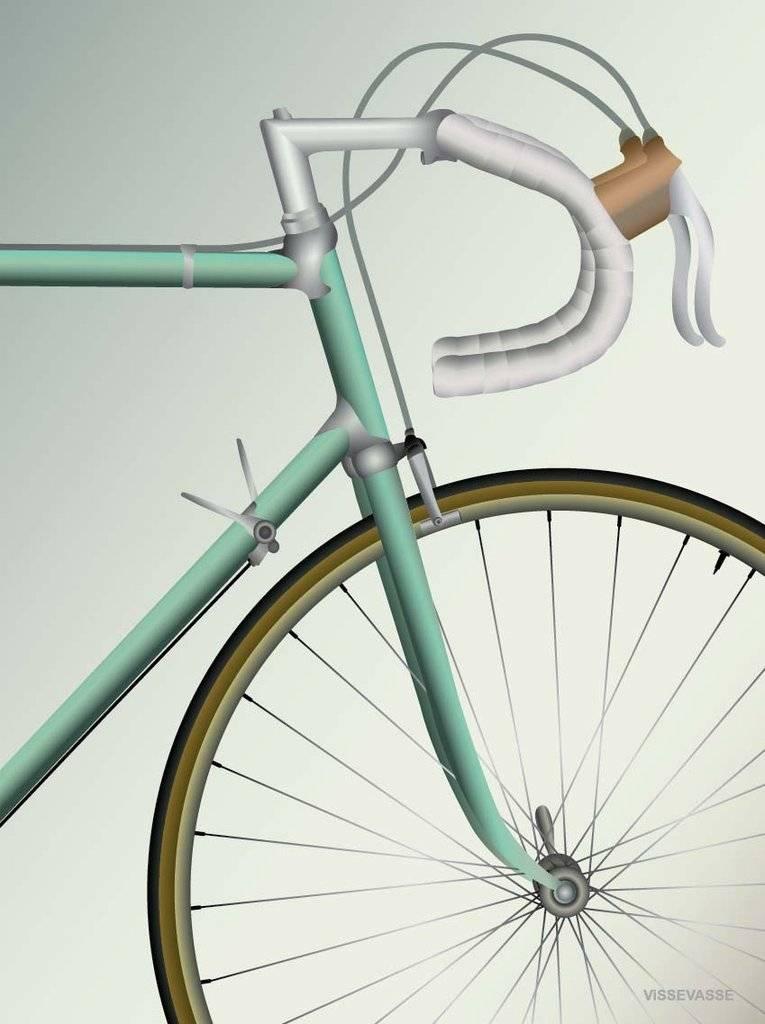 Poster Racing Bicycle - 30x40 - Vissevasse