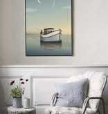Poster Vissevasse - The fisherman