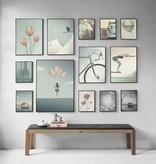 Poster Vissevasse 15 x 21 - The Swimmer
