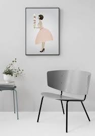 Poster Vissevasse 30x40 - Ice cream lady