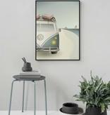 Poster VW Camper - 2 maten - Vissevasse