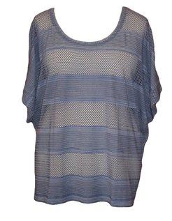 shirt in indigokleur