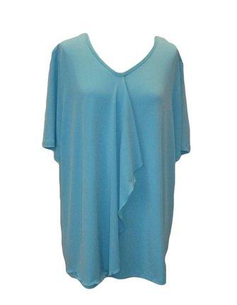 lichtblauw shirt maat 52