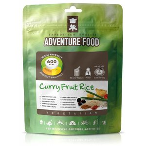 Adventure Food Vegetarian Freeze-Dried Meal: Fruit and Rice Curry