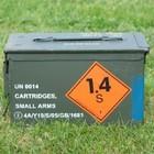 Ex Defensie Ammunition Box