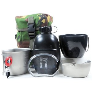 BCB Crusader Cooking System I Full set 6 piece (Stainless Steel & Silver)